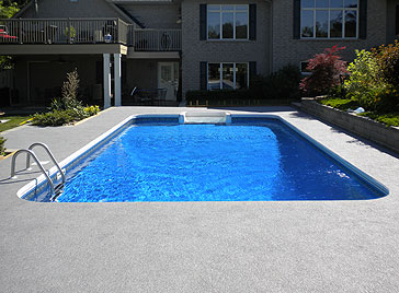 Rubber Surfaces for Pool Patios