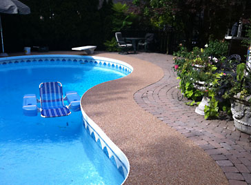 Ontario Rubber Decking Pool And Patio Surfacing Home